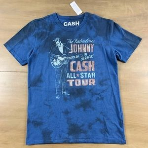Other - Vintage Johnny Cash Tie Dye Shirt Small